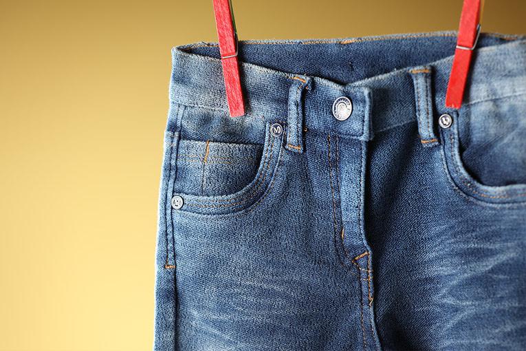 设计师品牌女童牛仔裤