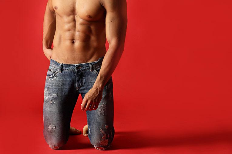 设计师品牌男士牛仔裤