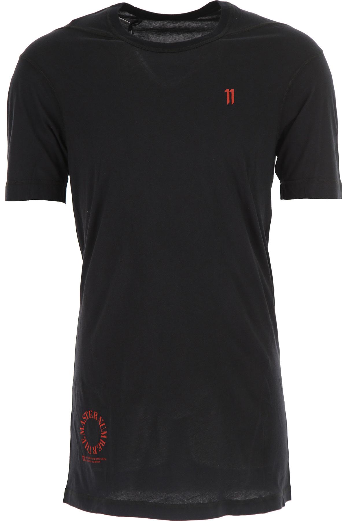 Image of 032c T-Shirt for Men, Black, Cotton, 2017, L M S XL