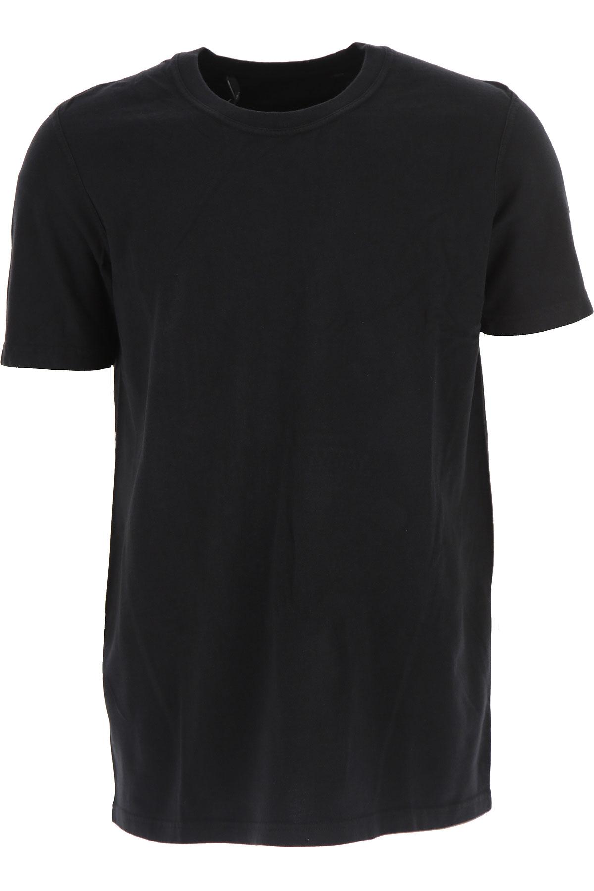 Image of 032c T-Shirt for Men, Black, Cotton, 2017, L M XL