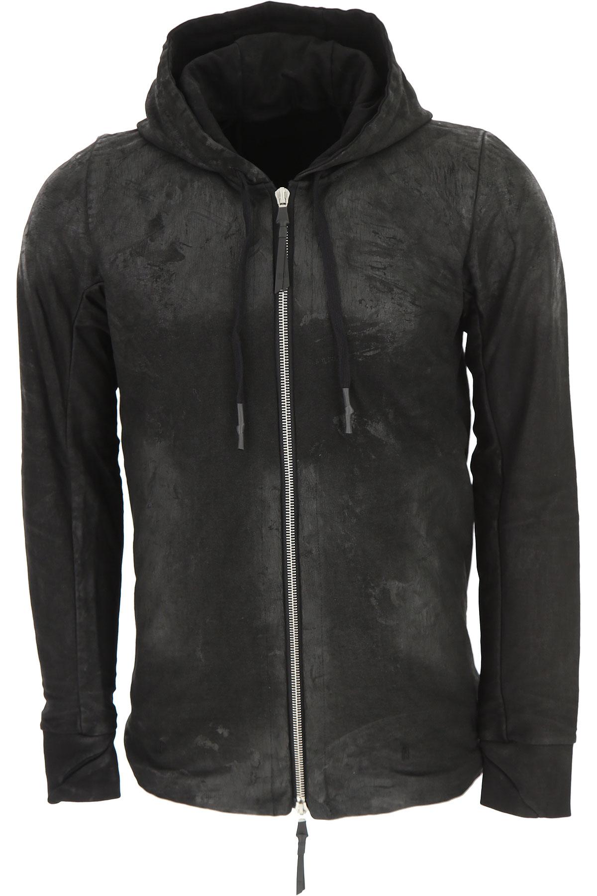 023c Sweat Homme Pas cher en Soldes, Noir, Coton, 2017, L M S XL