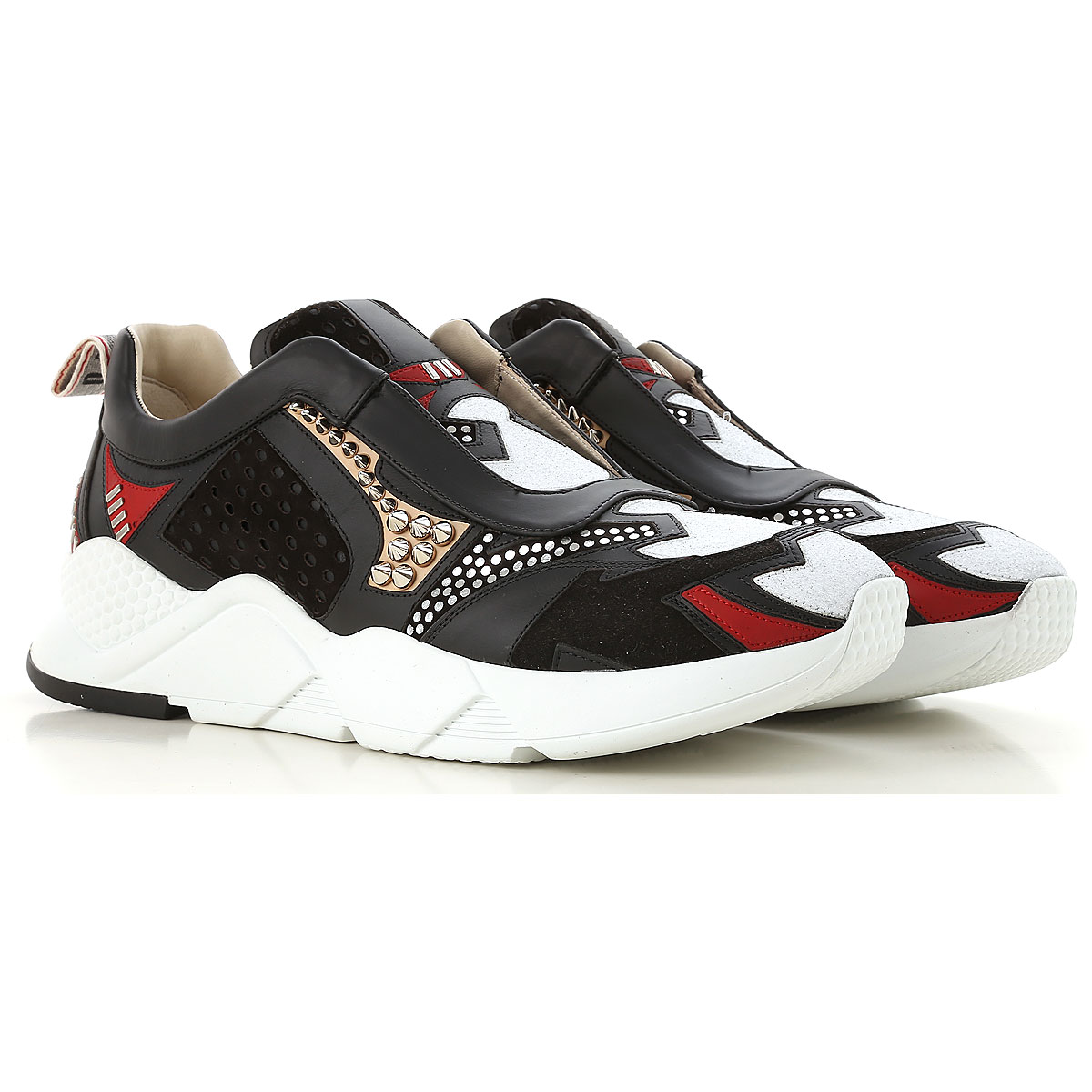 Image of 181 Sneakers for Women, Black, Leather, 2017, 10 7 8