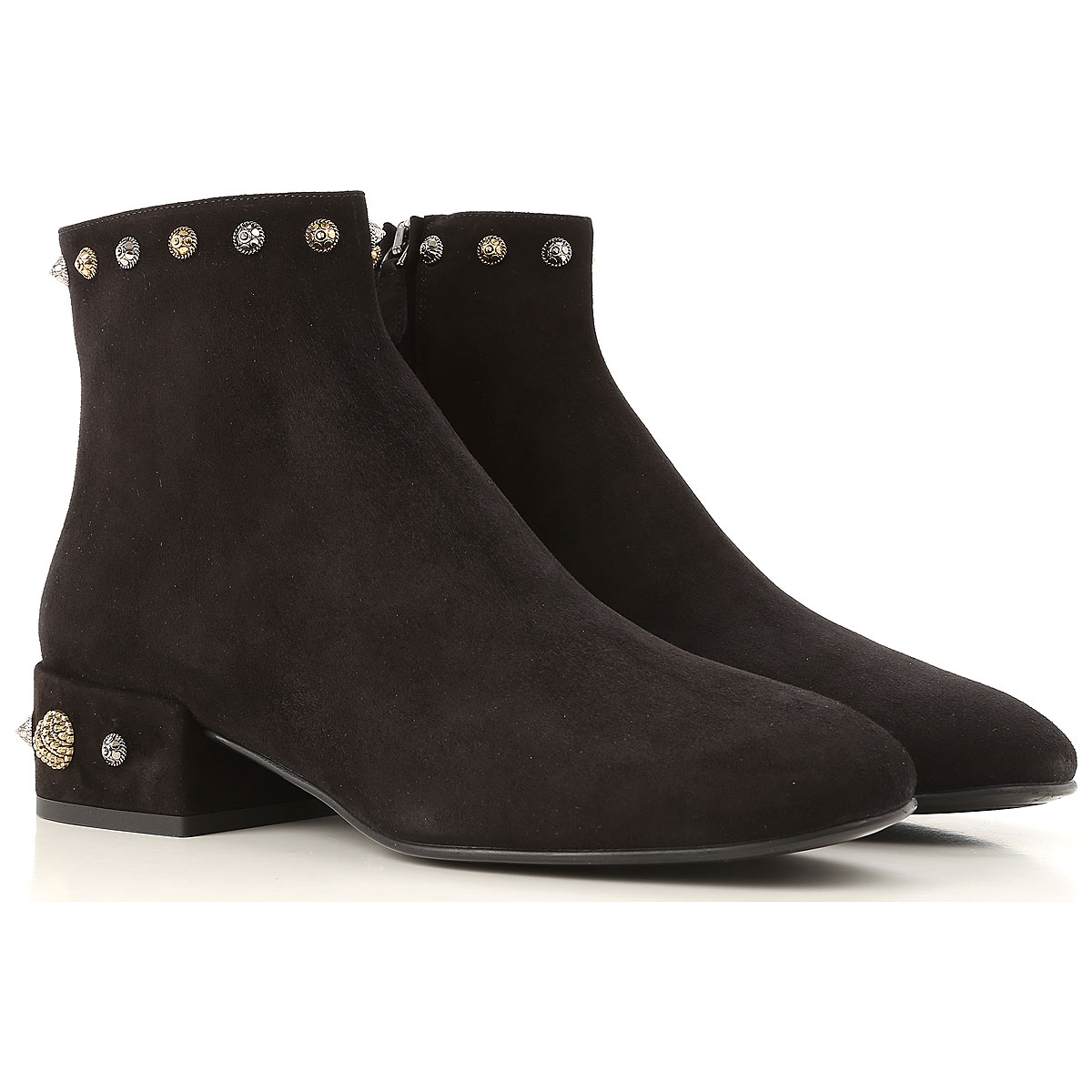 Image of 181 Boots for Women, Booties, Black, Suede leather, 2017, 10 6 7 8 8.5 9 9