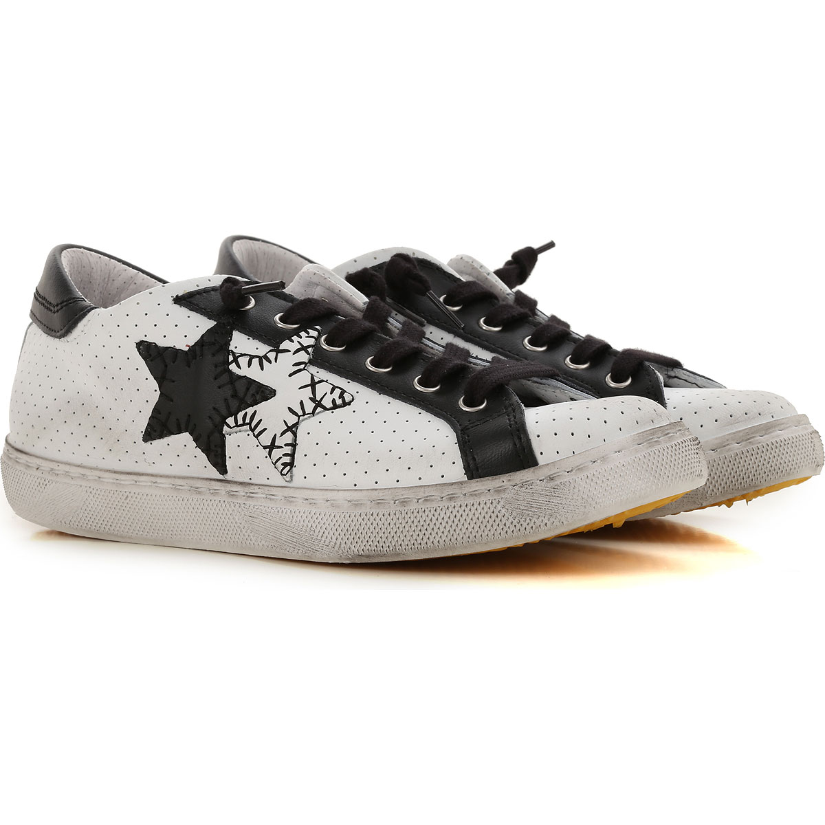 Image of 2Star Sneakers for Women, White, Leather, 2017, 10 11 5 6 7 8 9