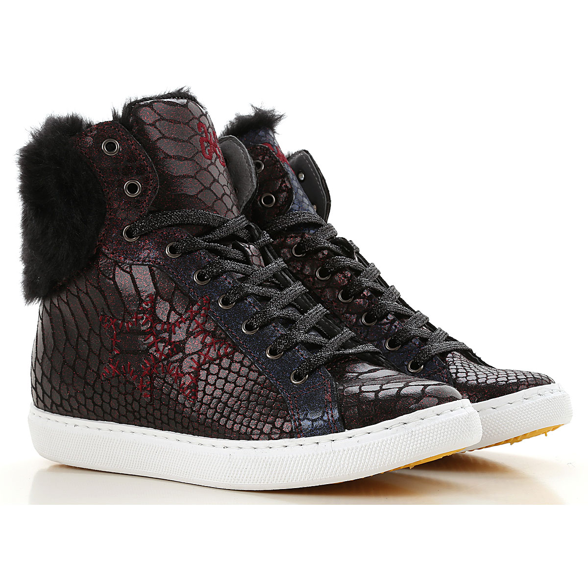 Image of 2Star Sneakers for Women, Blue, Leather, 2017, 10 11 7 8 9