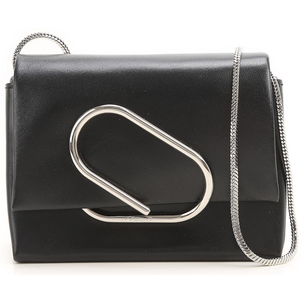 3.1 PHILLIP LIM Shoulder Bag for Women On Sale in Outlet, Black, Leather, 2017