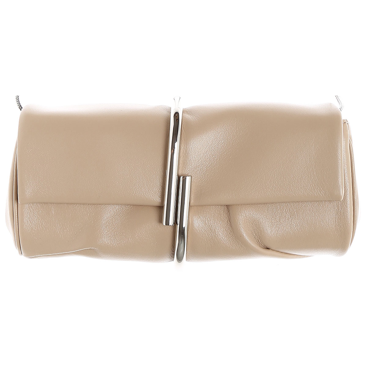 Image of 3.1 PHILLIP LIM Clutch Bag On Sale in Outlet, Fawn, Leather, 2017
