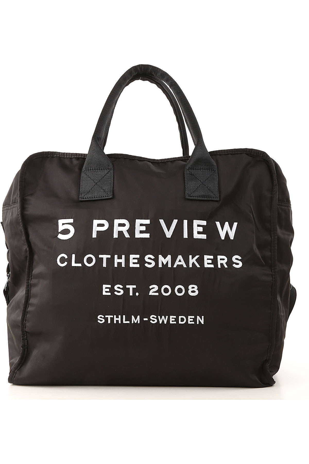 Image of 5 Preview Tote Bag, Black, polyester, 2017