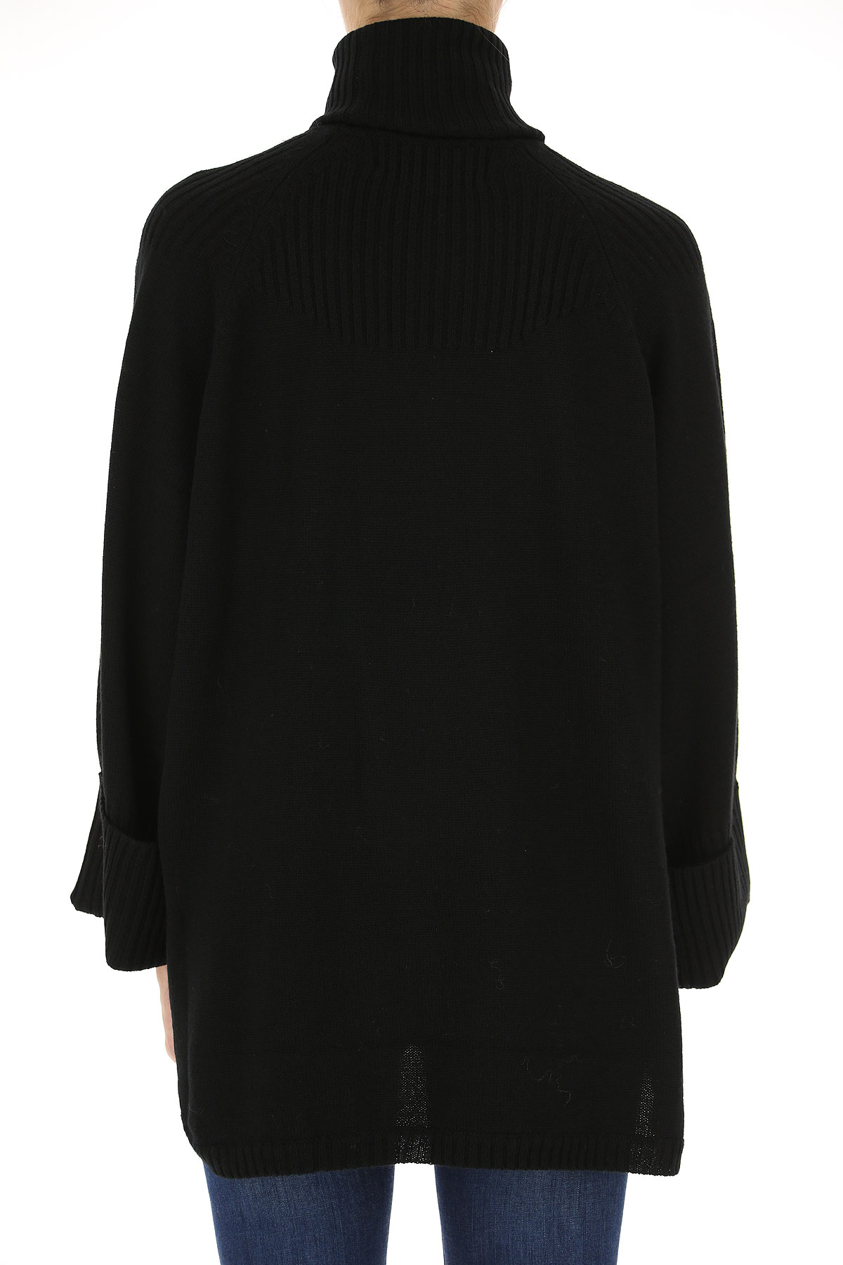 Image of 5 Preview Sweater for Women Jumper, Black, Wool, 2017, 2 4