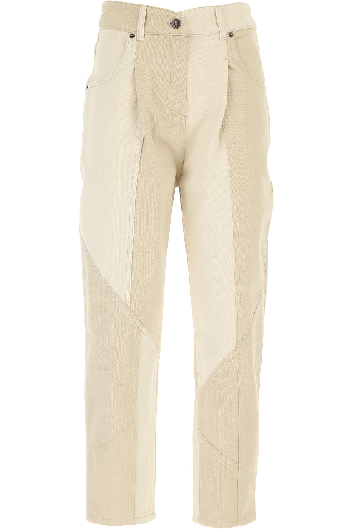 8 PM Pants for Women On Sale, White, Cotton, 2019, 25 26 27 28
