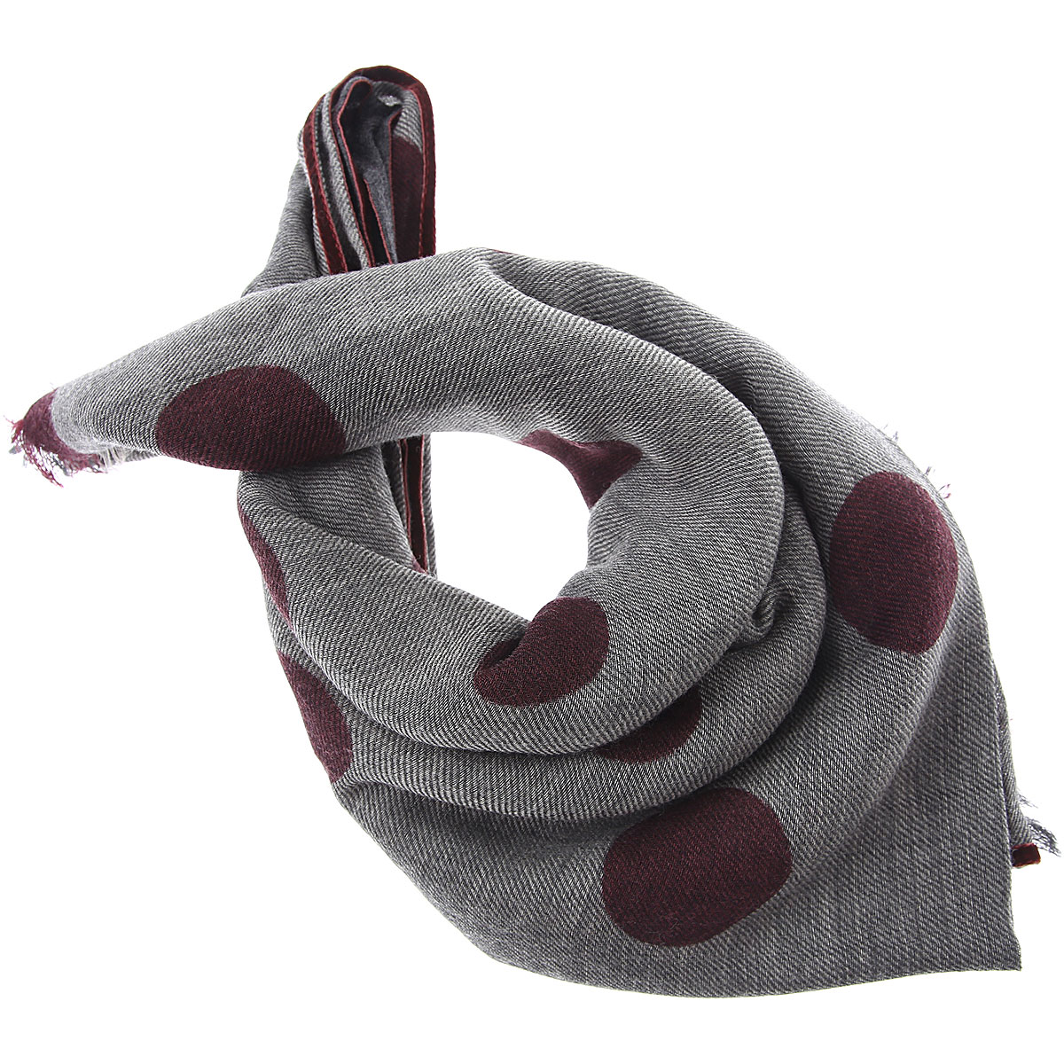 032c Scarf for Women On Sale, Brownish-grey, Wool, 2019