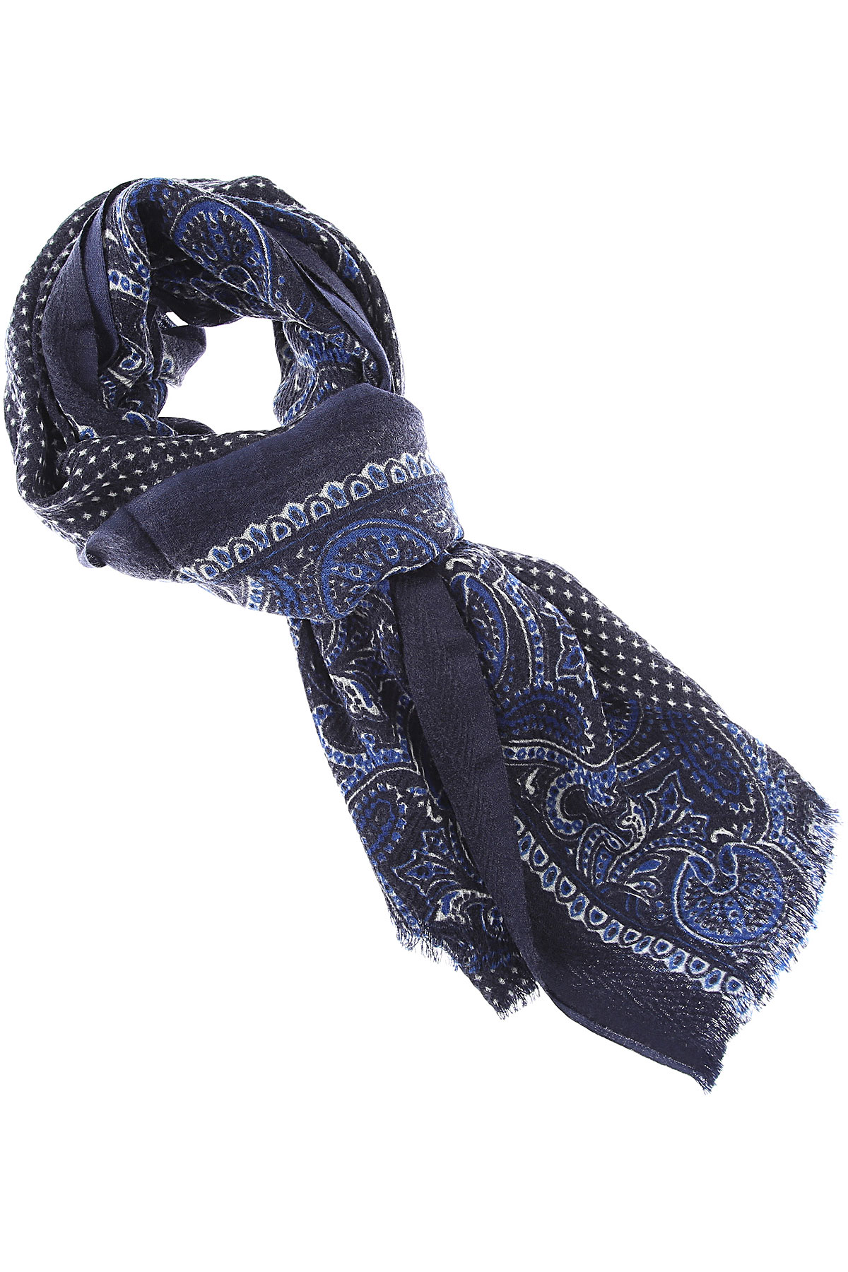 032c Scarf for Women On Sale, navy, Wool, 2019
