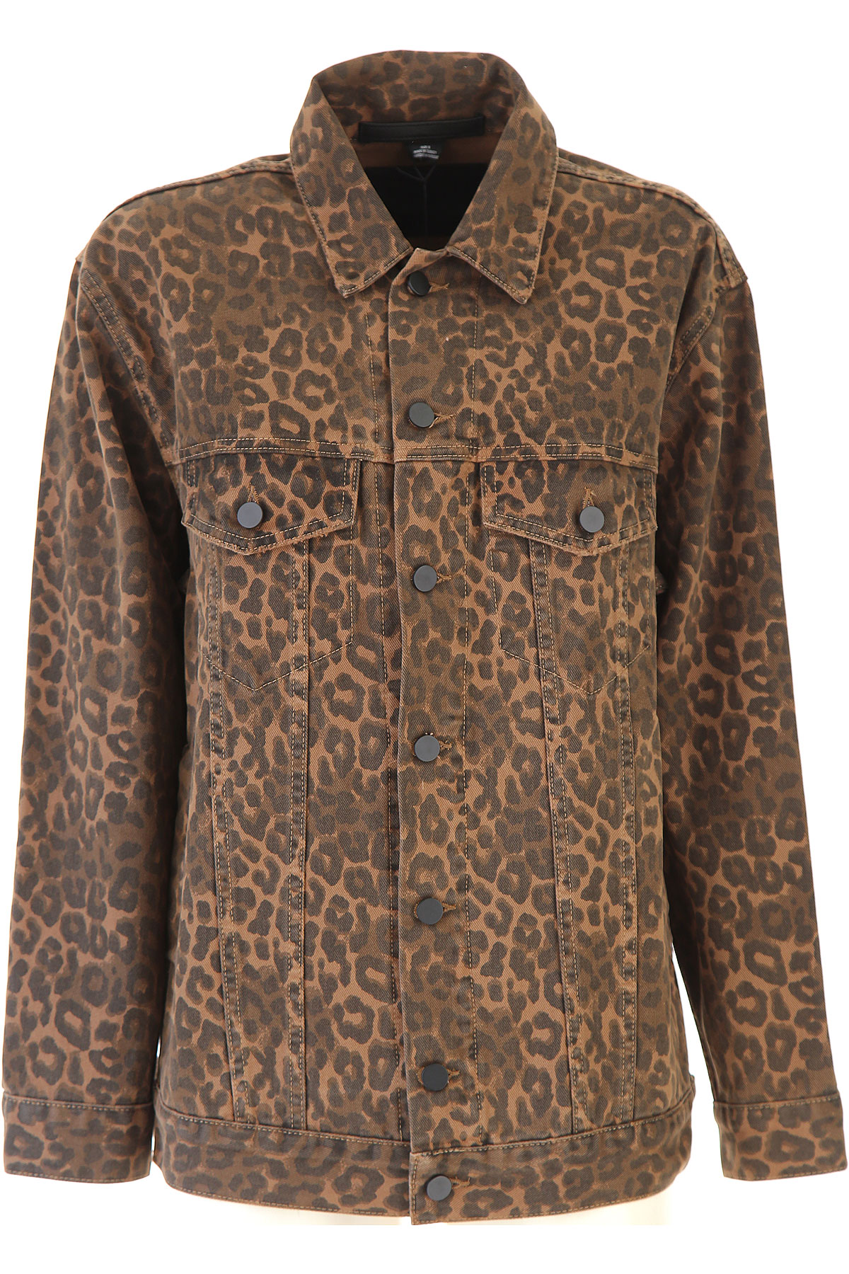 Image of Alexander Wang Jacket for Women, Leopard, Cotton, 2017, 2 4 6