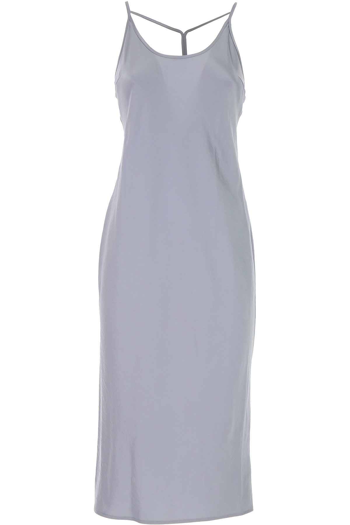 Alexander Wang Dress for Women, Evening Cocktail Party On Sale in Outlet, Bluette, Triacetate, 2019, USA 2 - IT 38