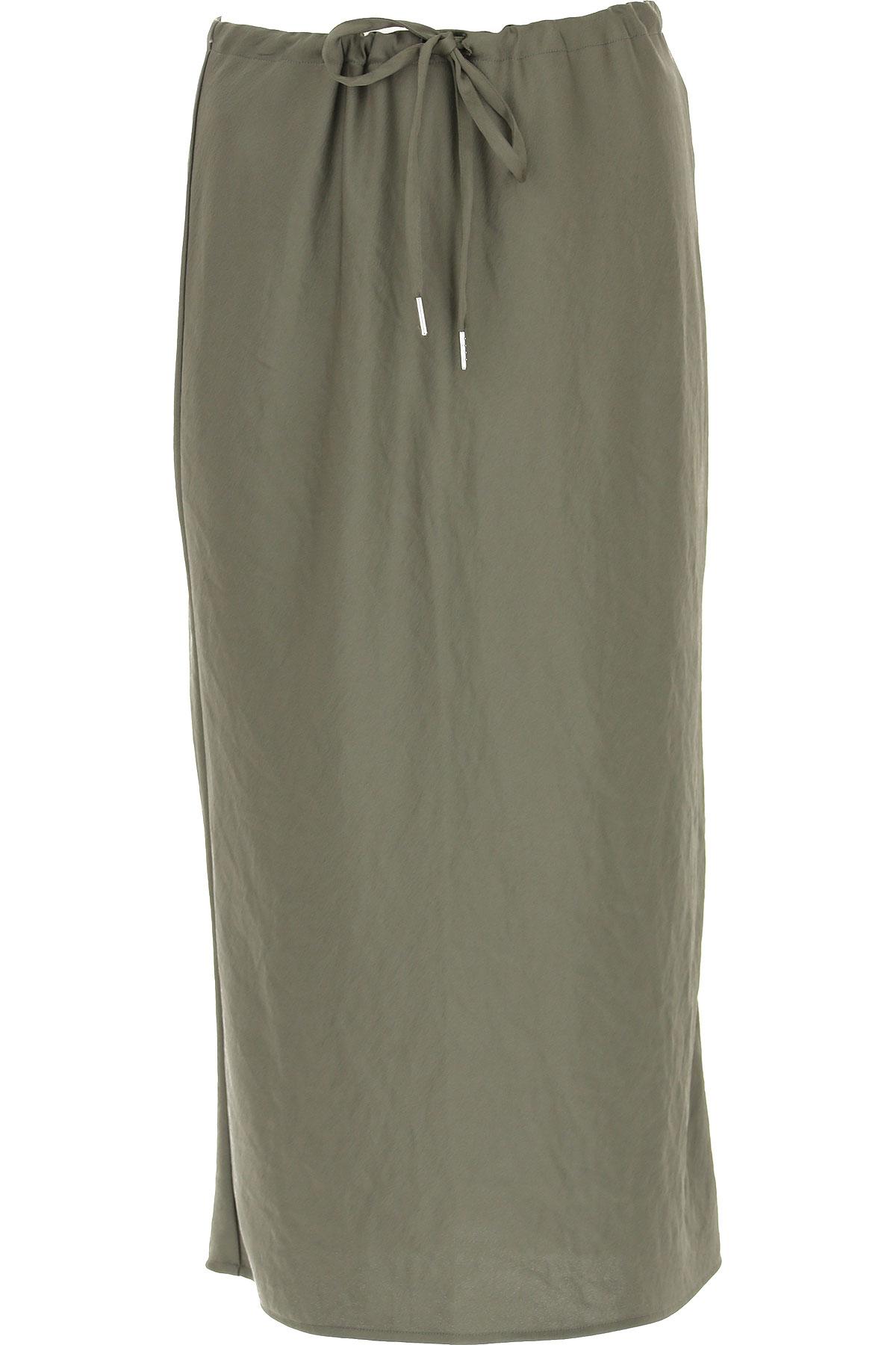 Alexander Wang Skirt for Women On Sale, Grey, polyestere, 2019, 4 6