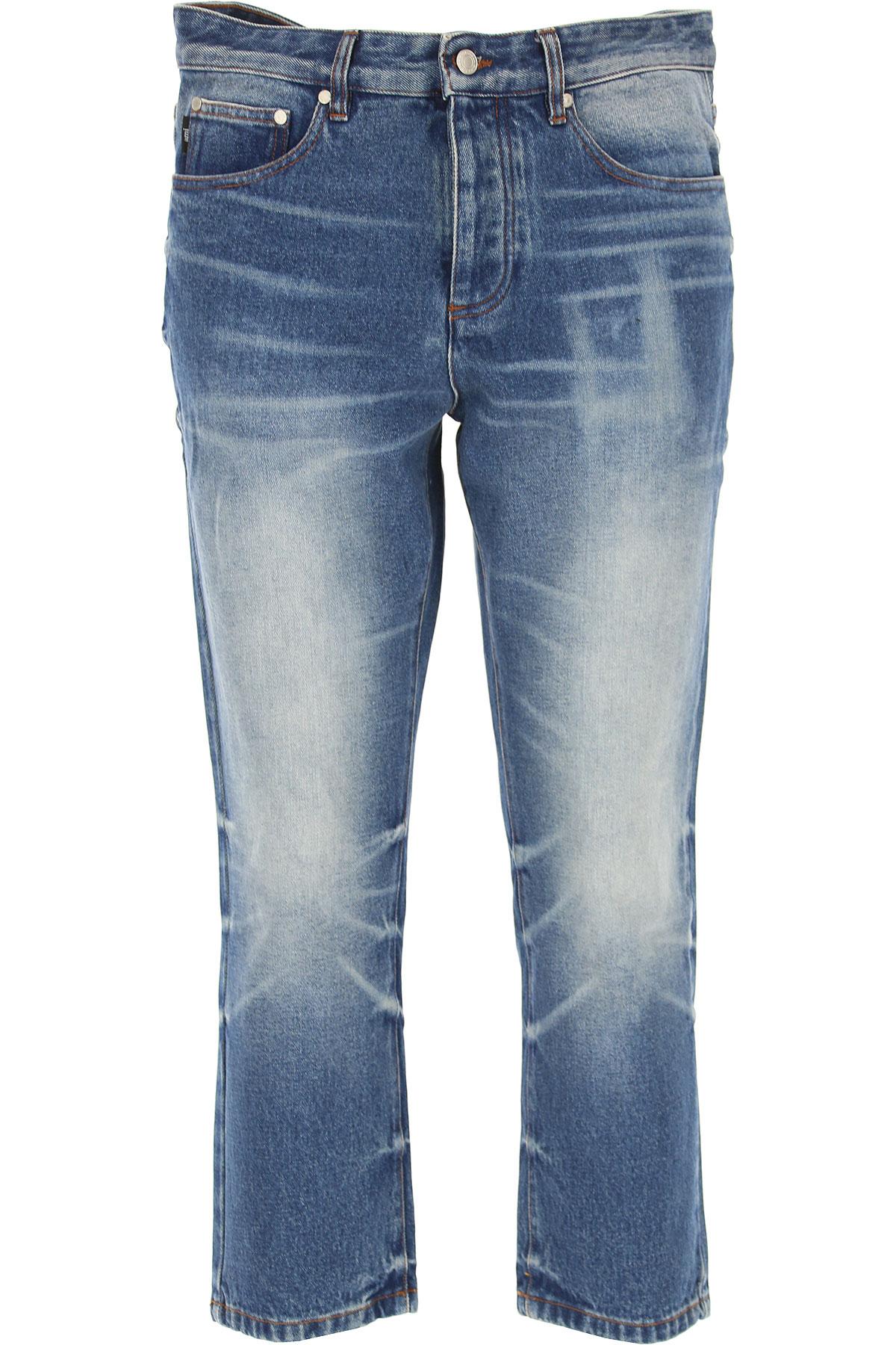 Image of Ami Jeans, Denim, Cotton, 2017, 32 33 34