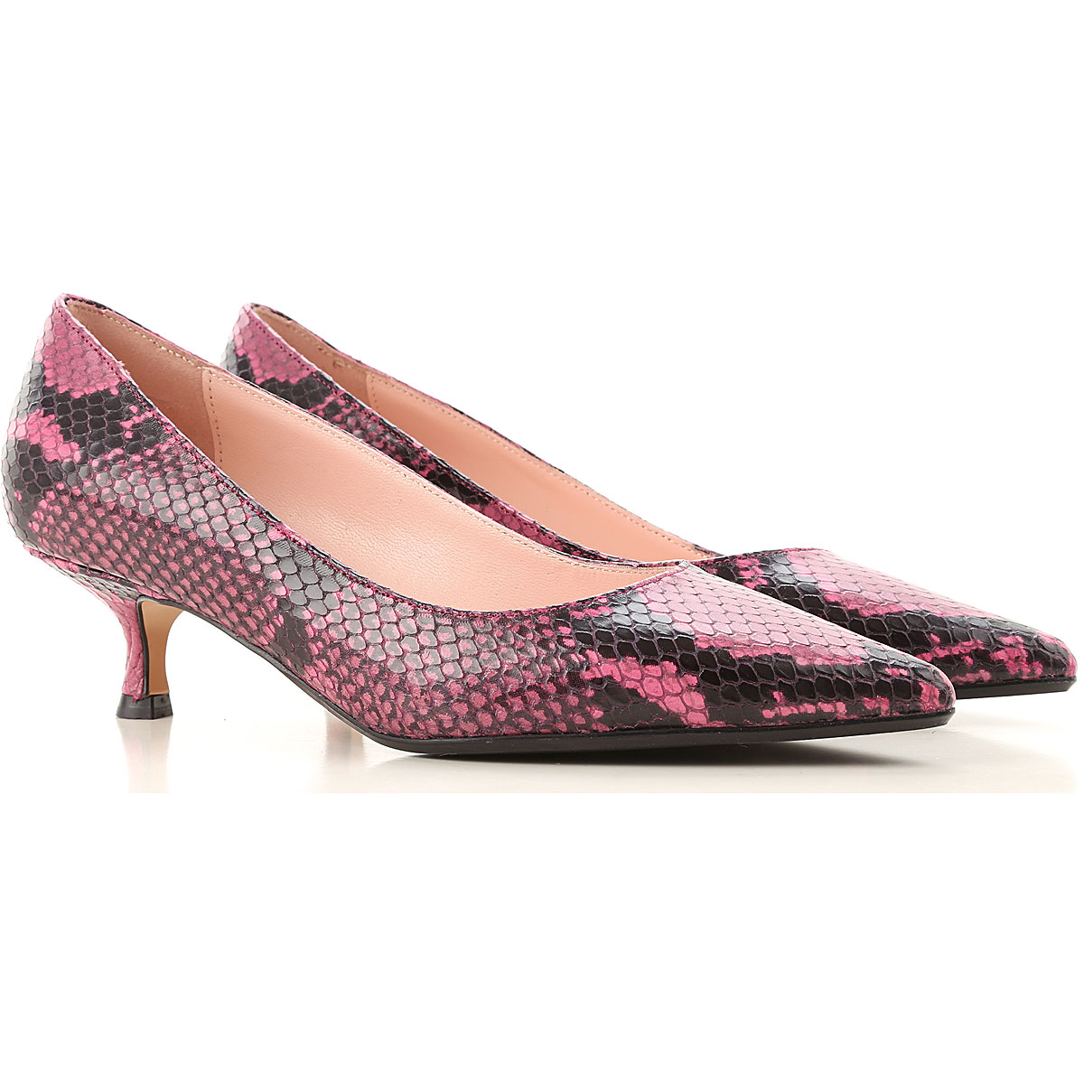 Anna F. Pumps & High Heels for Women, fuxia, Leather, 2019, 11 7