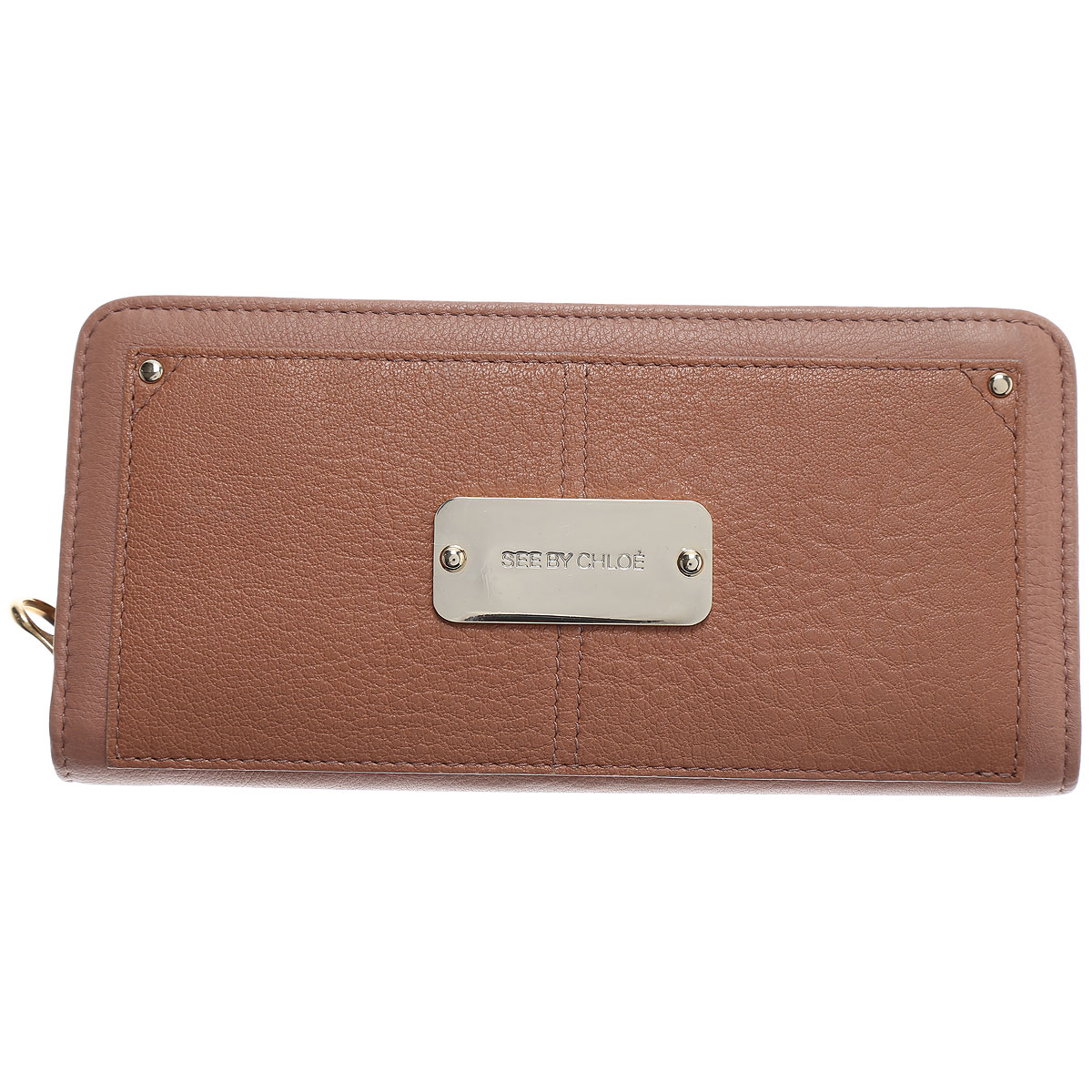 Chloe Wallet for Women On Sale in Outlet, Natural, Leather, 2019