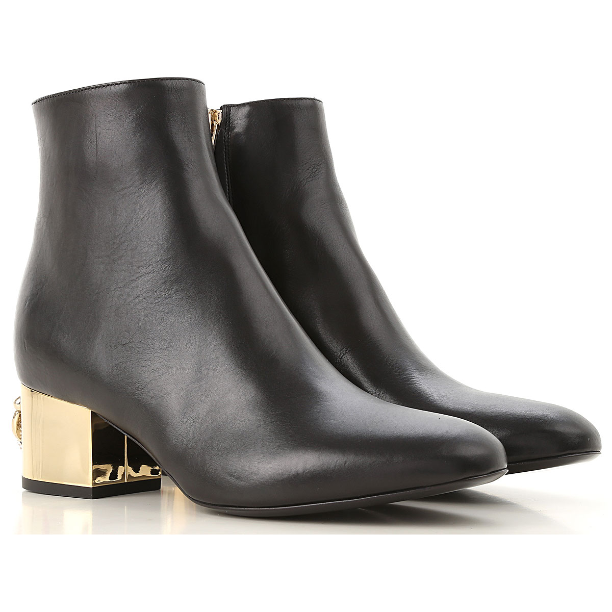 Image of Coliac Boots for Women, Booties, Black, Leather, 2017, 5 6 6.5 7 8 8.5 9