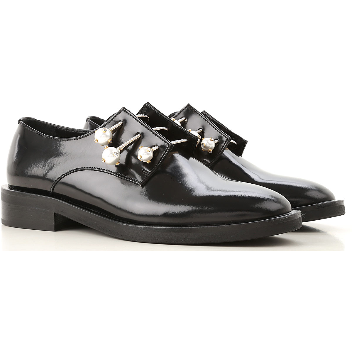 Image of Coliac Lace Up Shoes for Men Oxfords, Derbies and Brogues, Black, Patent Leather, 2017, 6 7 8 9