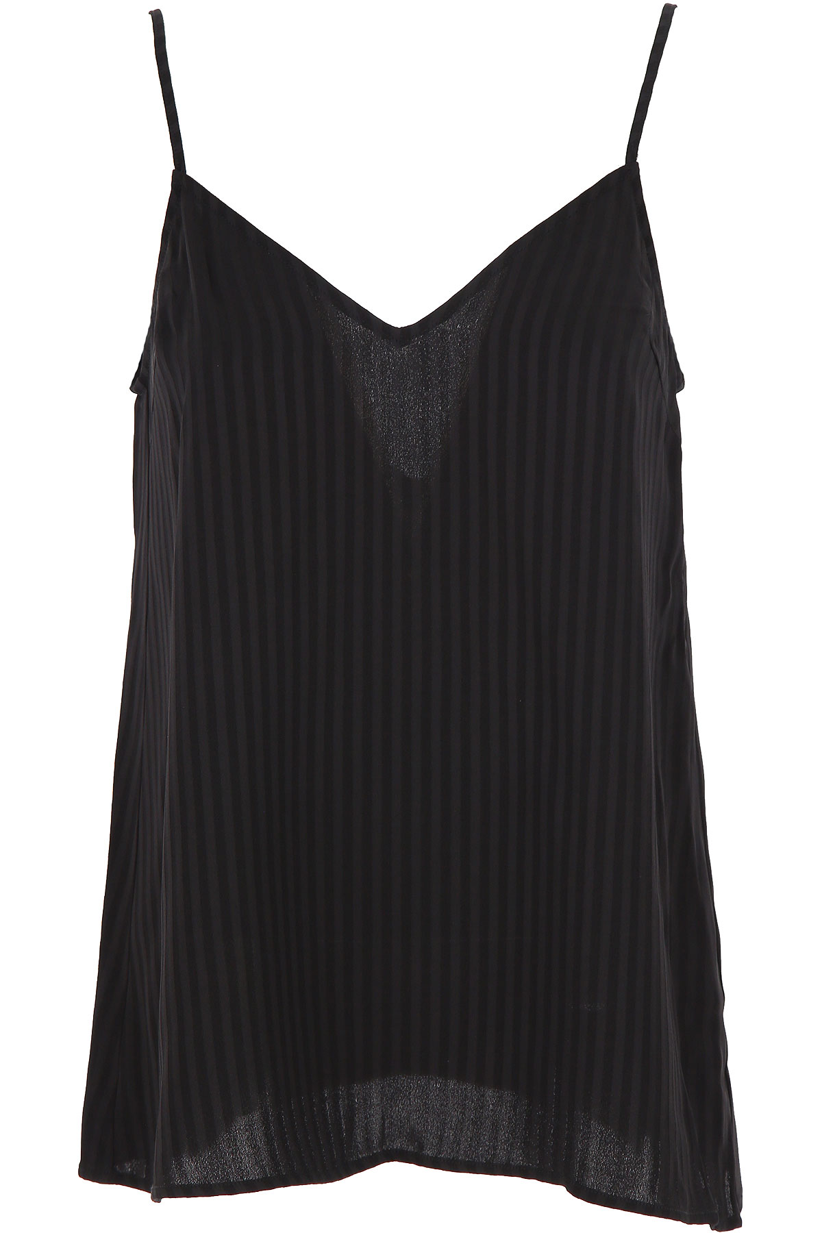 Federica Tosi Top for Women On Sale, Black, viscosa, 2019, 2 4 6