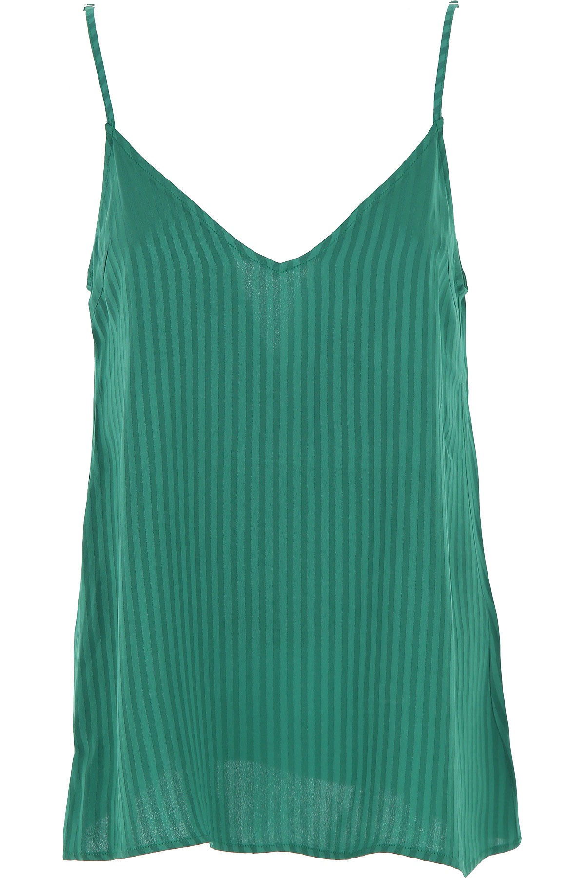 Federica Tosi Top for Women On Sale, Green, viscosa, 2019, 2 4 6