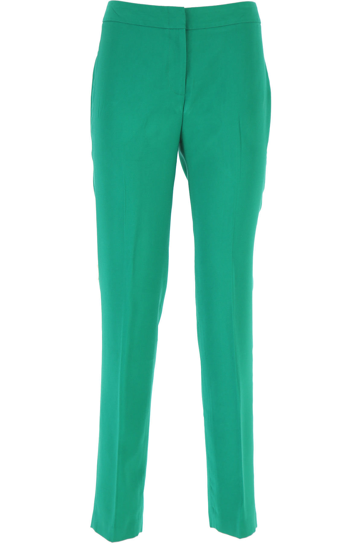 Federica Tosi Pants for Women On Sale, Green, viscosa, 2019, 26 4