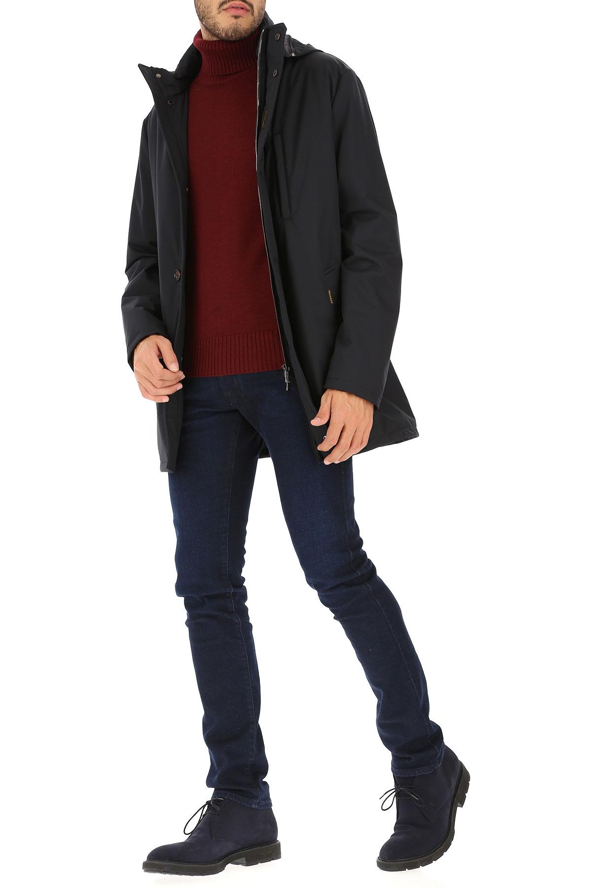 Moorer Jacket for Men On Sale, Dark Blue, polyester, 2019, L XL XXL XXXL