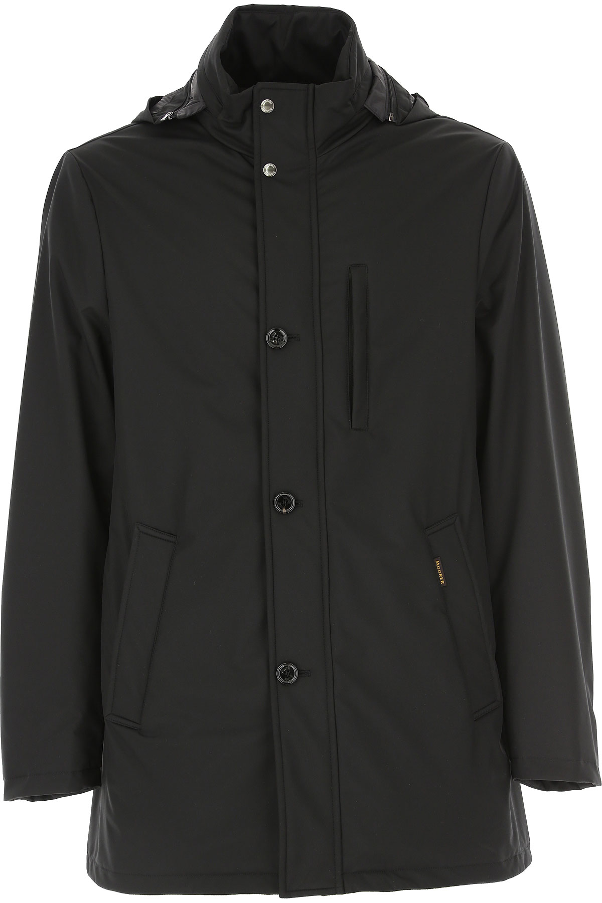 Moorer Jacket for Men On Sale, Black, polyester, 2019, M XL