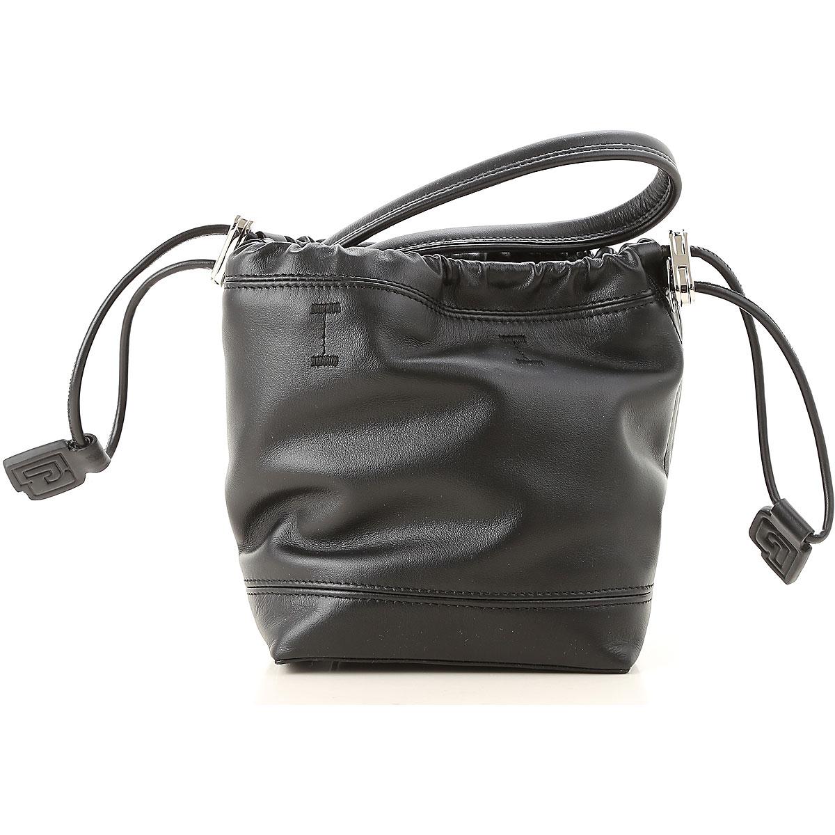 Image of Paco Rabanne Shoulder Bag for Women, Black, Leather, 2017