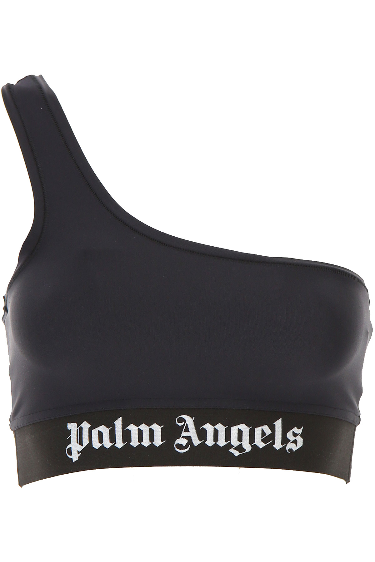 Palm Angels Top for Women On Sale, Black, polyamide, 2019, 2 6