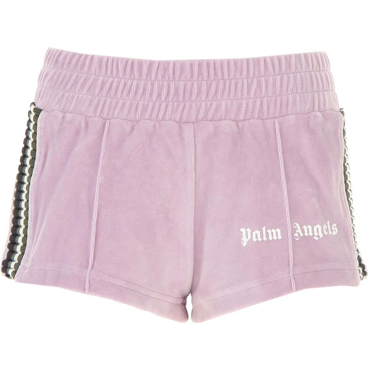 Palm Angels Shorts for Women On Sale, Lilac, Cotton, 2019, 26 4