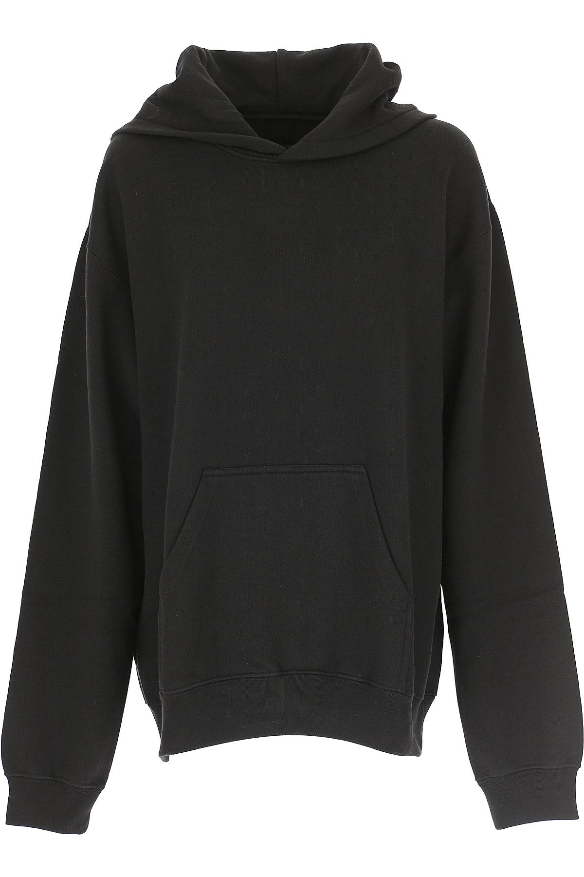 Image of RtA Sweatshirt for Women, Black, Cotton, 2017, 2 4