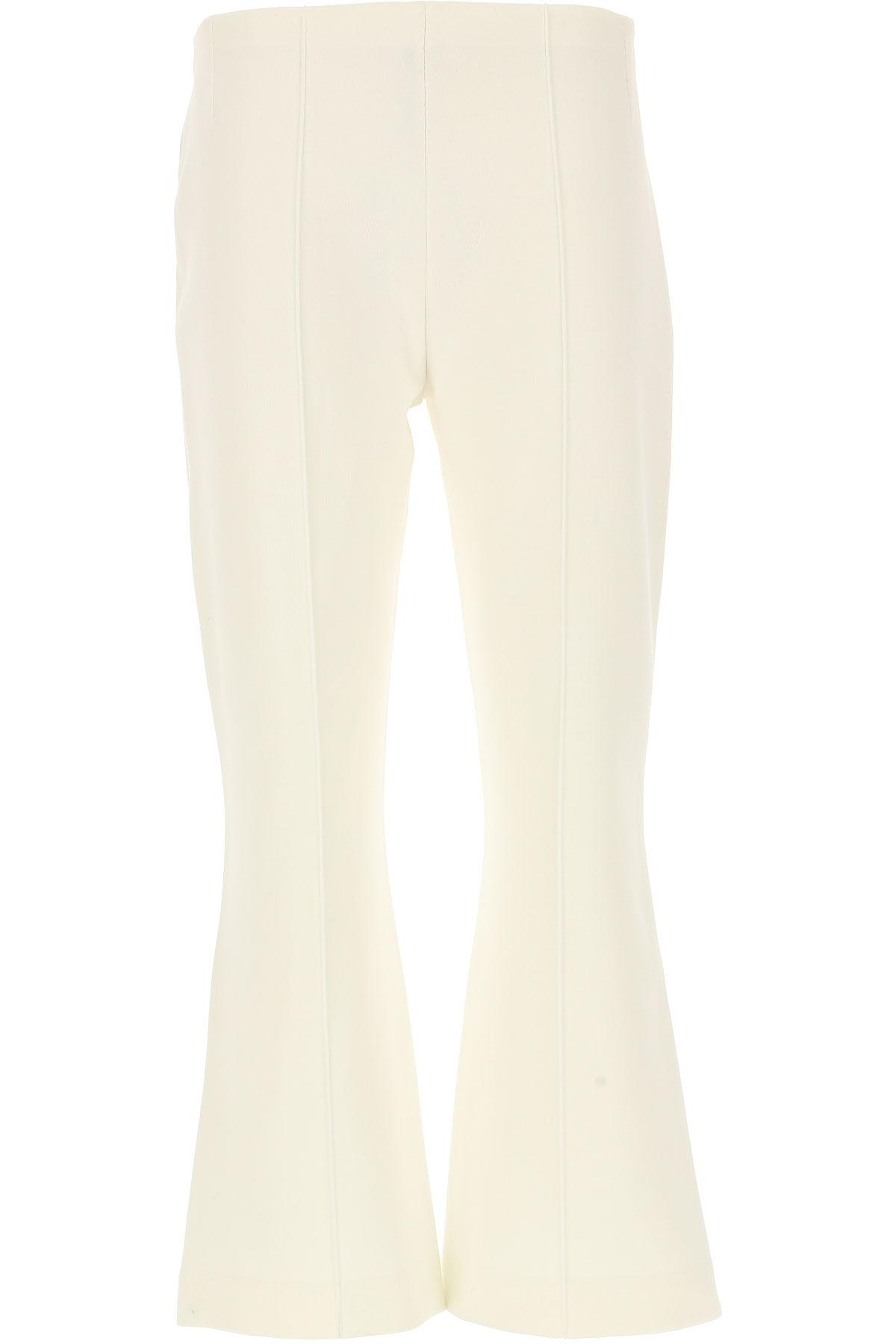 Image of Sonia Rykiel Pants for Women, White, Virgin wool, 2017, 6 8