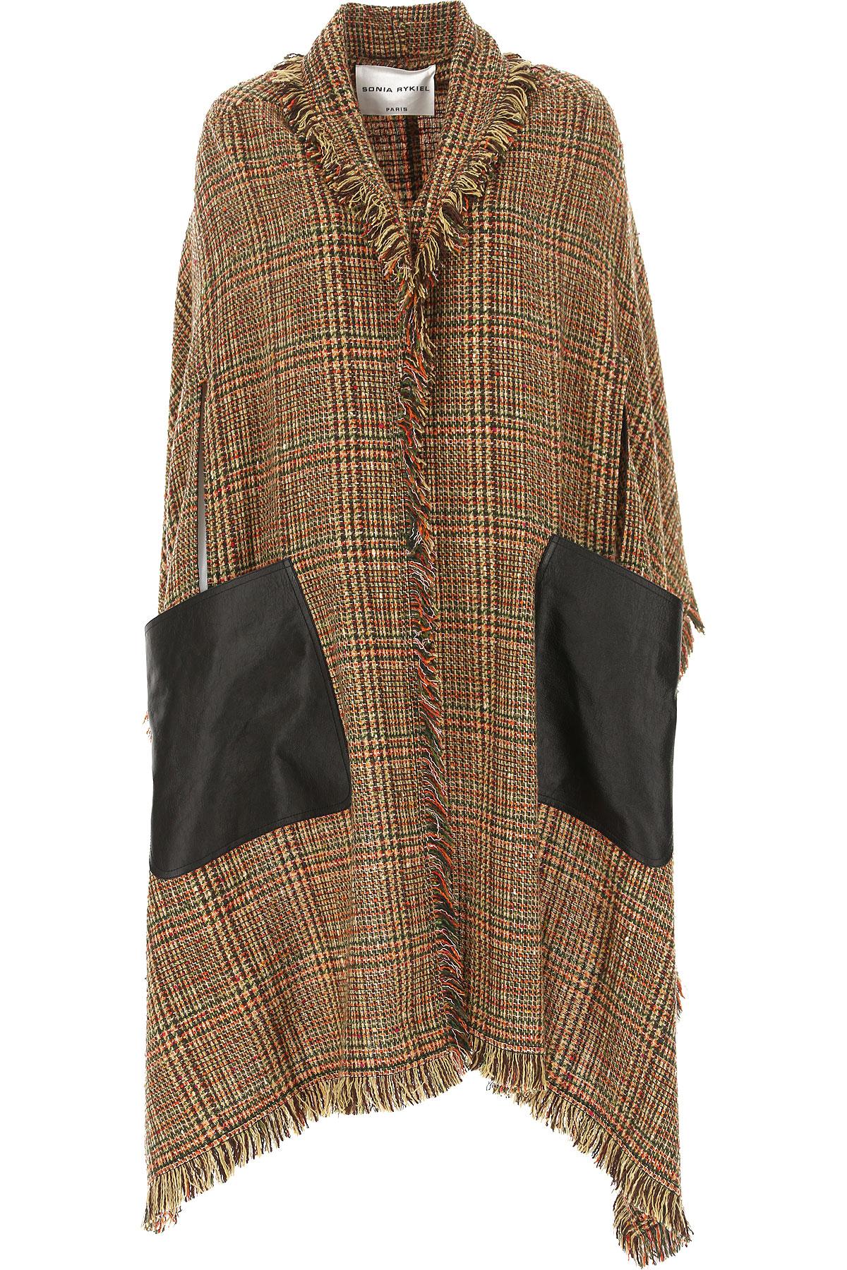 Image of Sonia Rykiel Jacket for Women, Multicolor, Wool, 2017