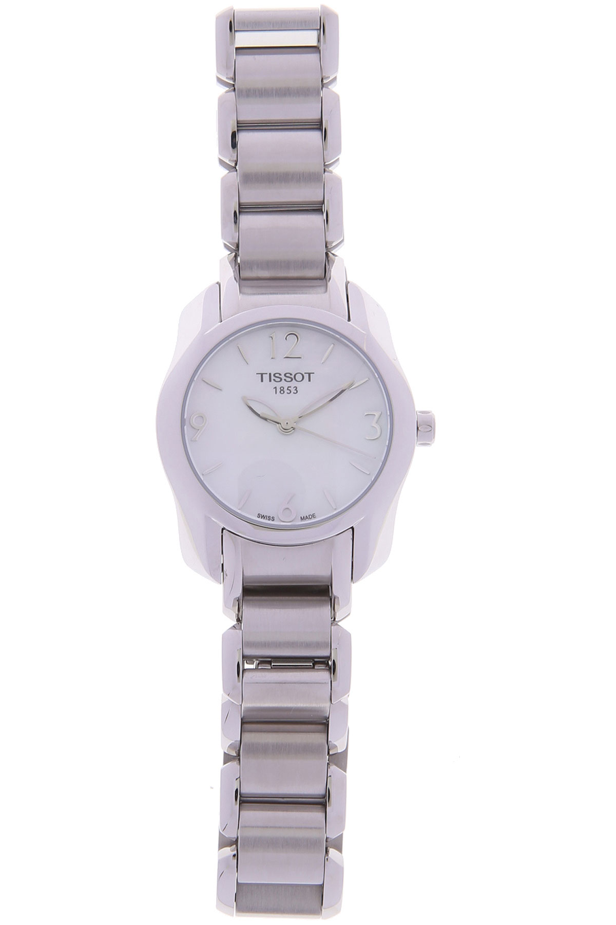 Tissot Watch for Women, Silver, Stainless Steel, 2019