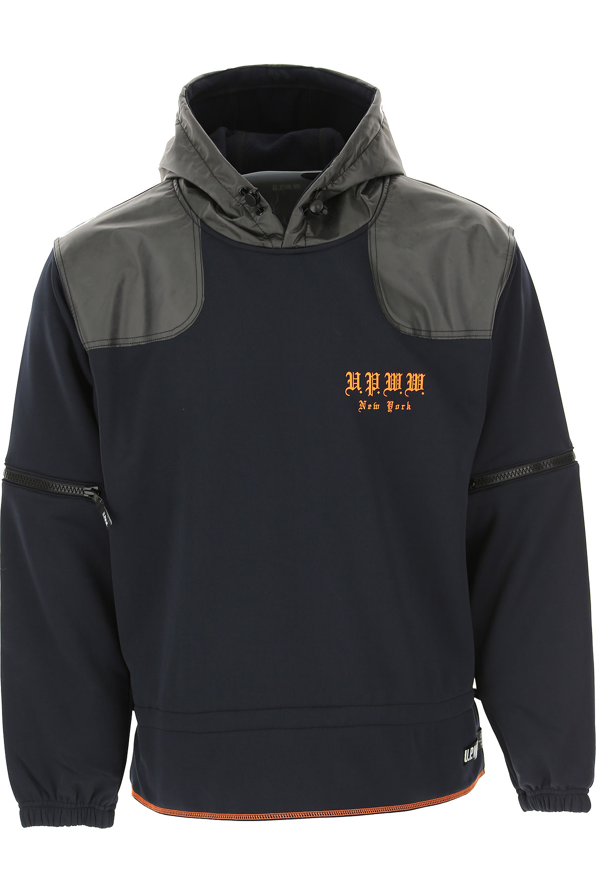 U.P.W.W. Sweatshirt for Men, Blue, polyester, 2019, L M S