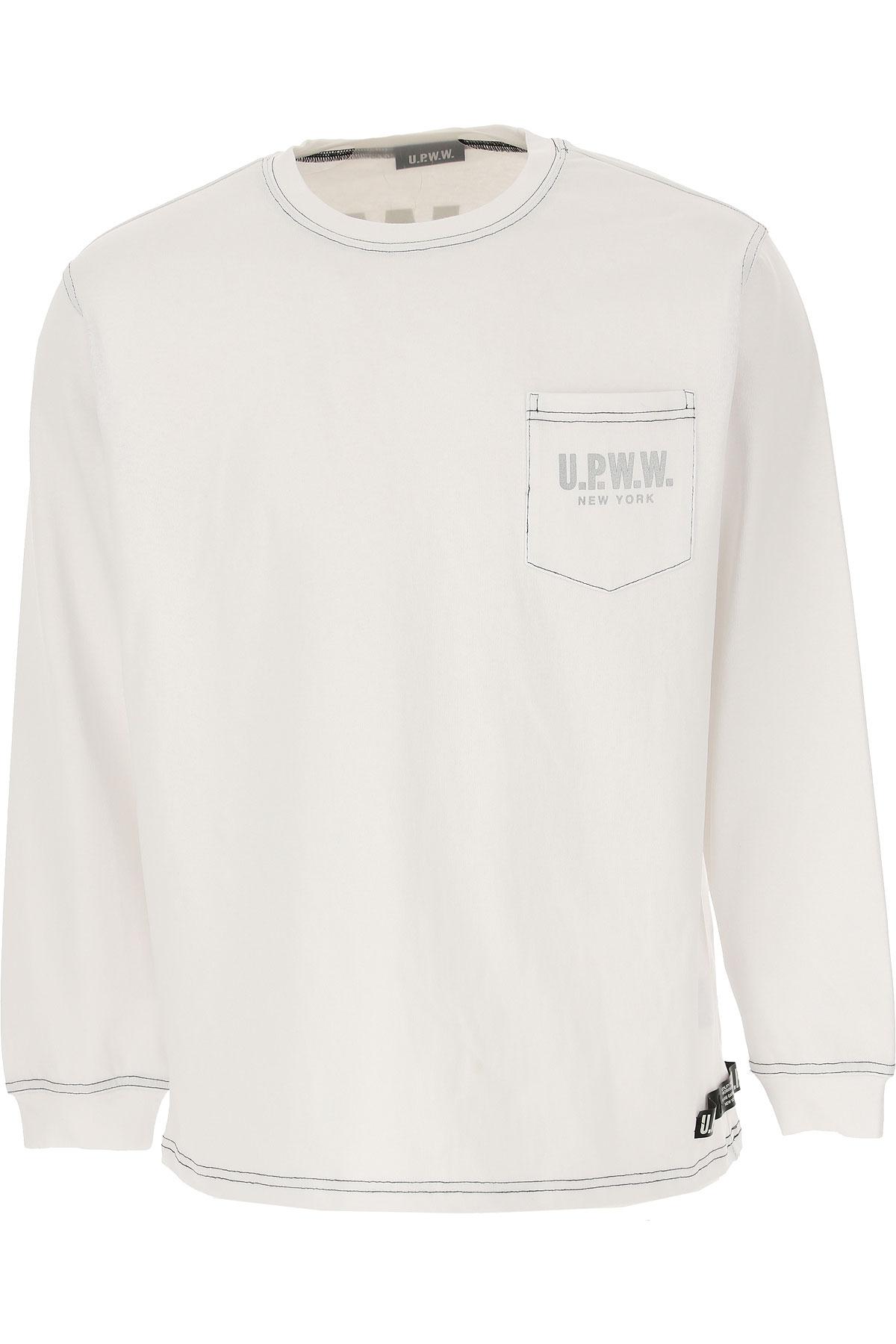 U.P.W.W. T-Shirt for Men, White, Cotton, 2019, M S