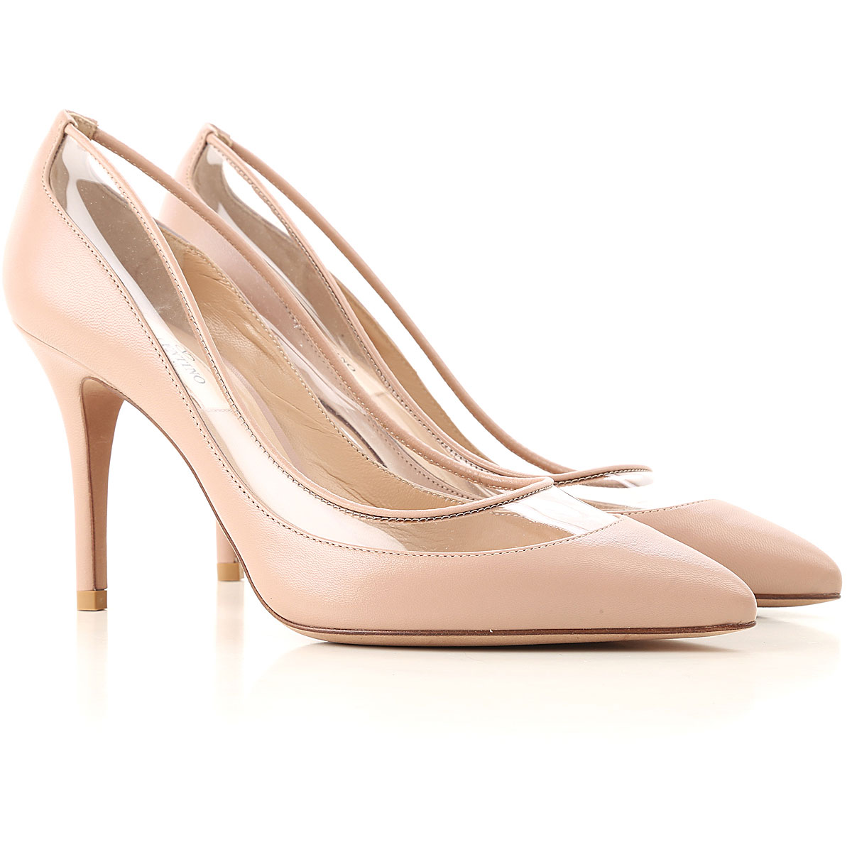 Valentino Garavani Pumps & High Heels for Women On Sale in Outlet, Antique Rose, Leather, 2019, 6 7 8 8.5 9