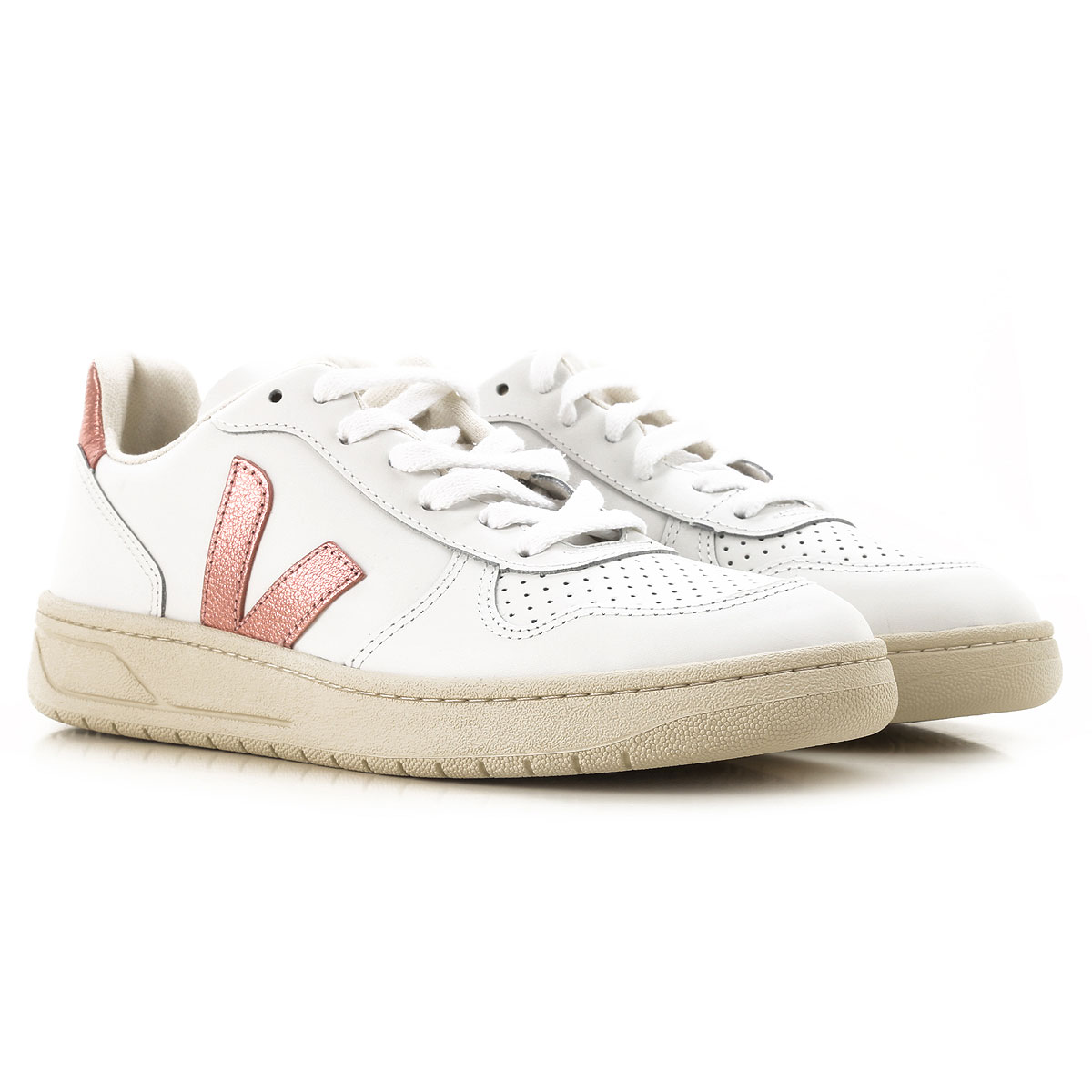 Veja Womens Shoes On Sale, Extra White, Leather, 2019, 7 9