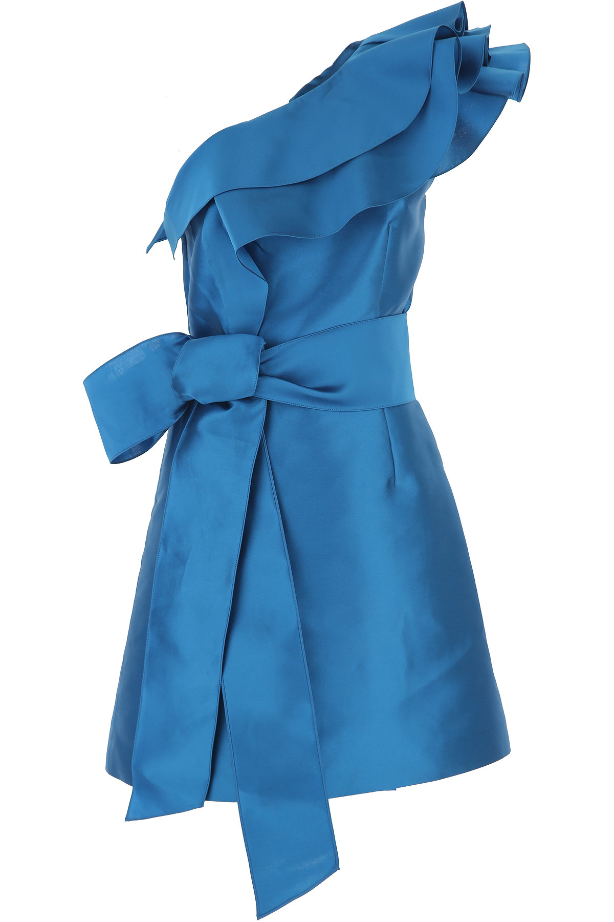 Alberta Ferretti Dress moterims, Evening Cocktail Party, Electric Blue, polyestere, 2019, 40 M