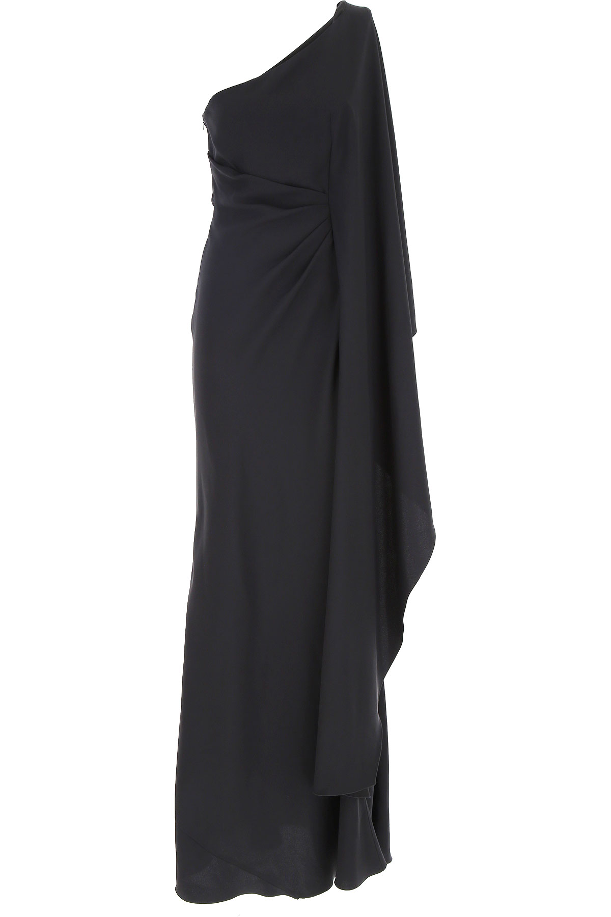 Alberta Ferretti Dress for Women, Evening Cocktail Party On Sale, Black, acetate, 2019, 6 8