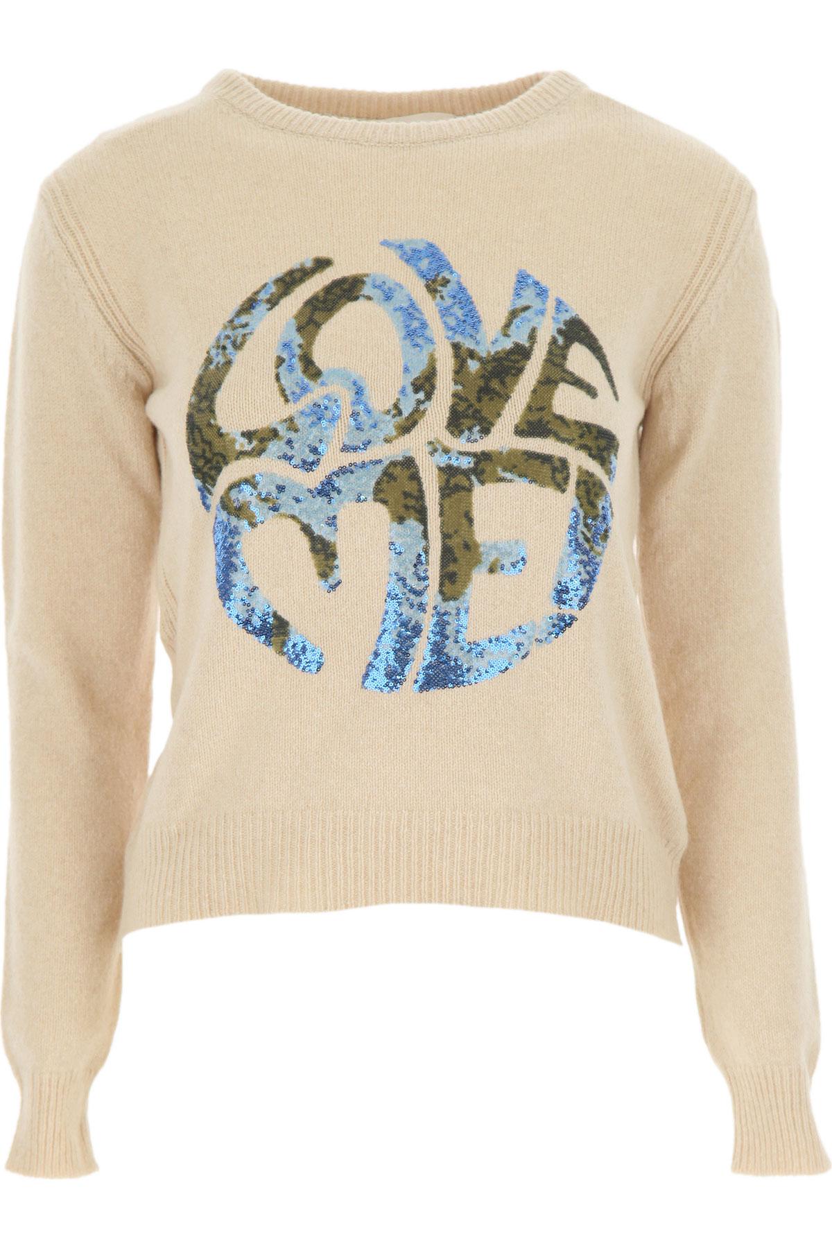 Alberta Ferretti Sweater for Women Jumper On Sale, Natural, Cashemere, 2019, 4 8