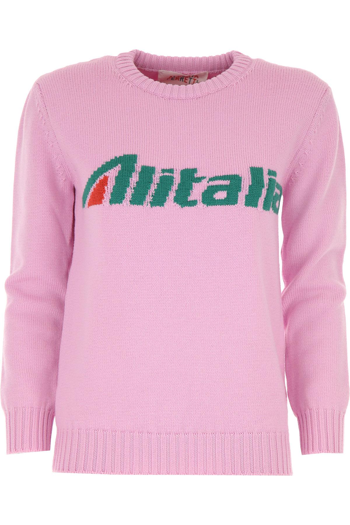 Alberta Ferretti Sweater for Women Jumper On Sale, Pink, Virgin wool, 2019, 2 4 6