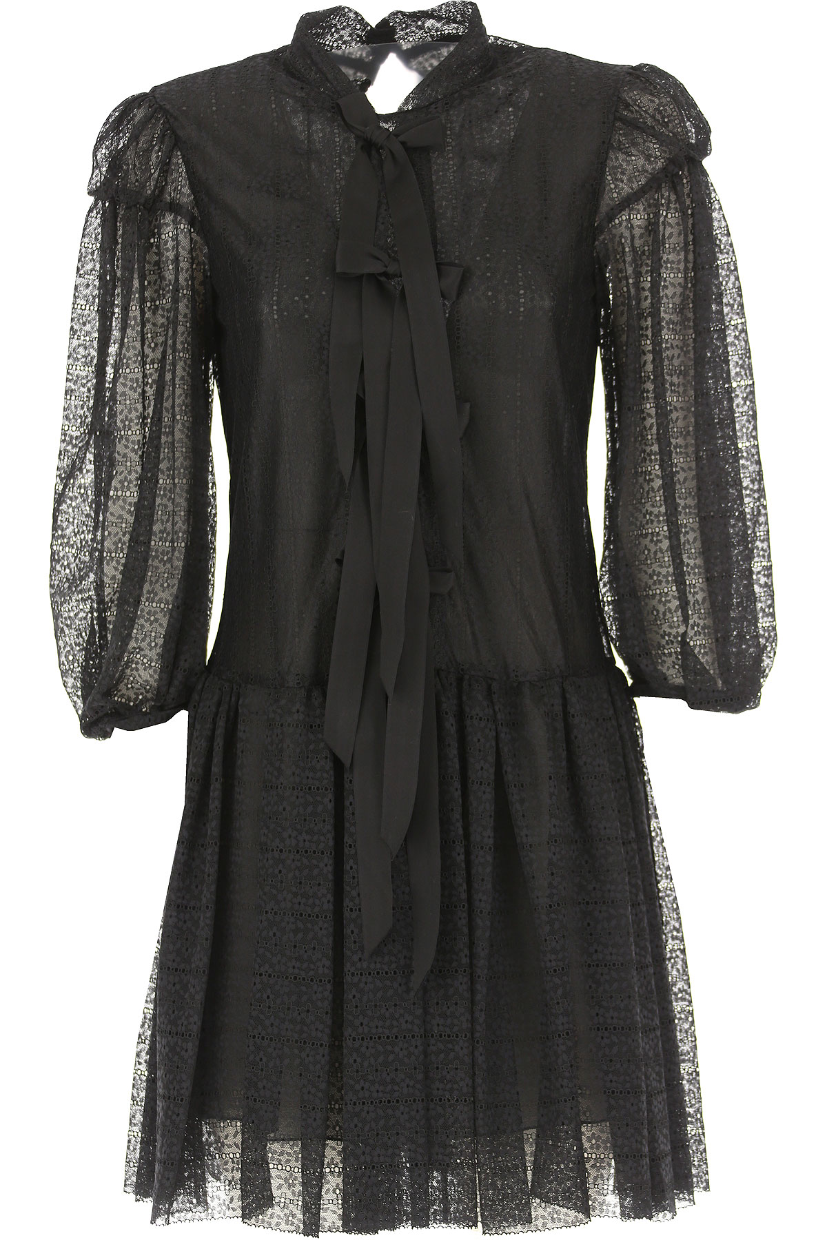 Image of Alberta Ferretti Dress for Women, Evening Cocktail Party, Black, polyamide, 2017, 2 4