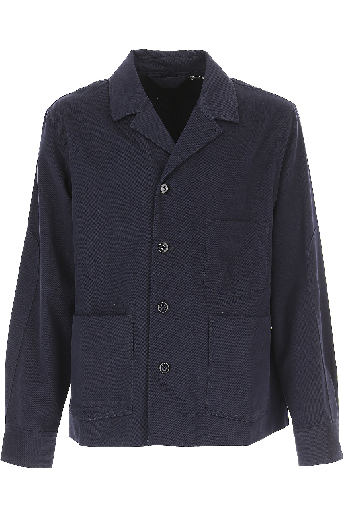 Image of Acne Studios Blazer for Men, Sport Coat, Blue Ink, Cotton, 2017, L M