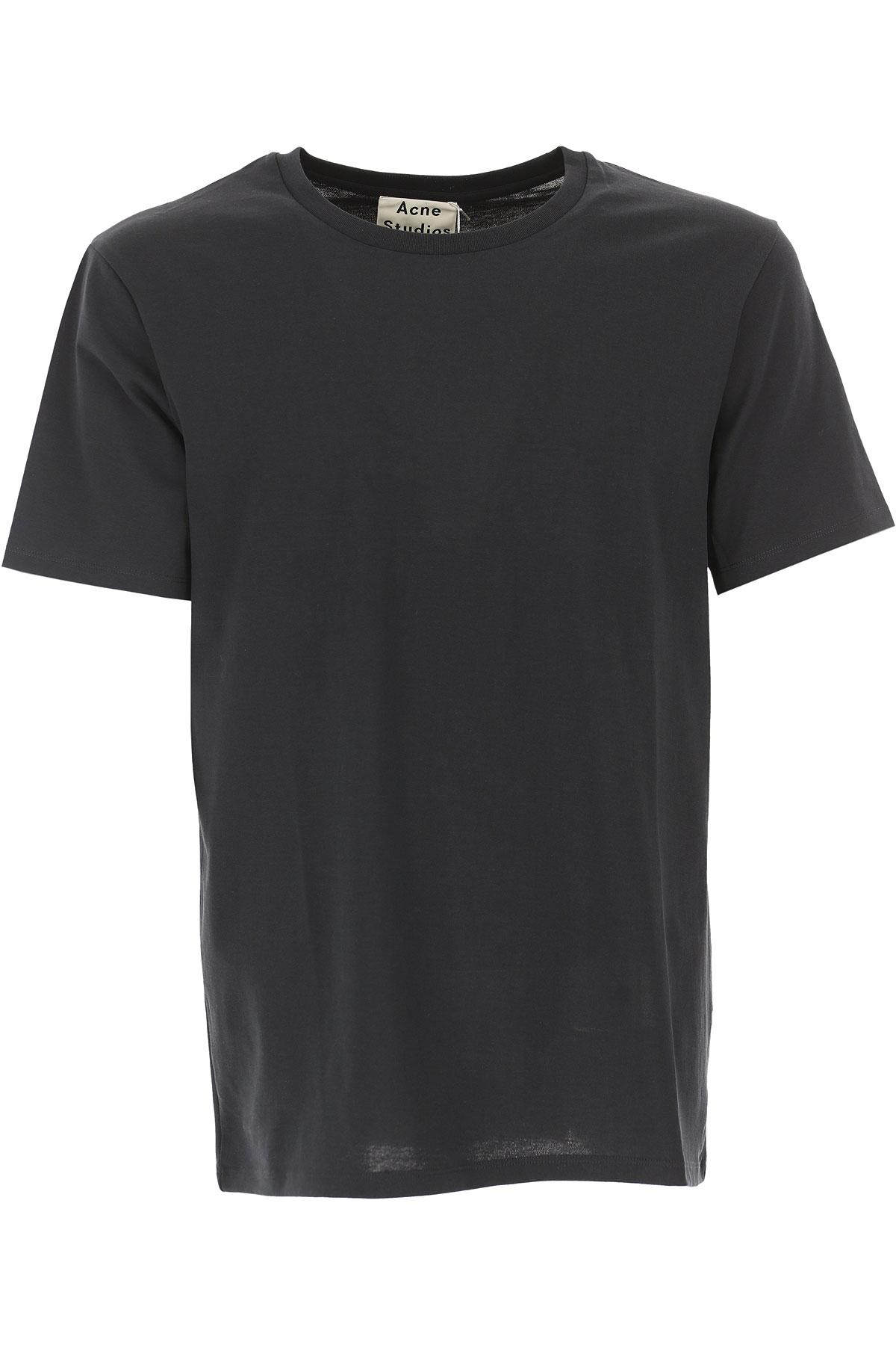 Image of Acne Studios T-Shirt for Men, Black, Cotton, 2017, M S XL XXL