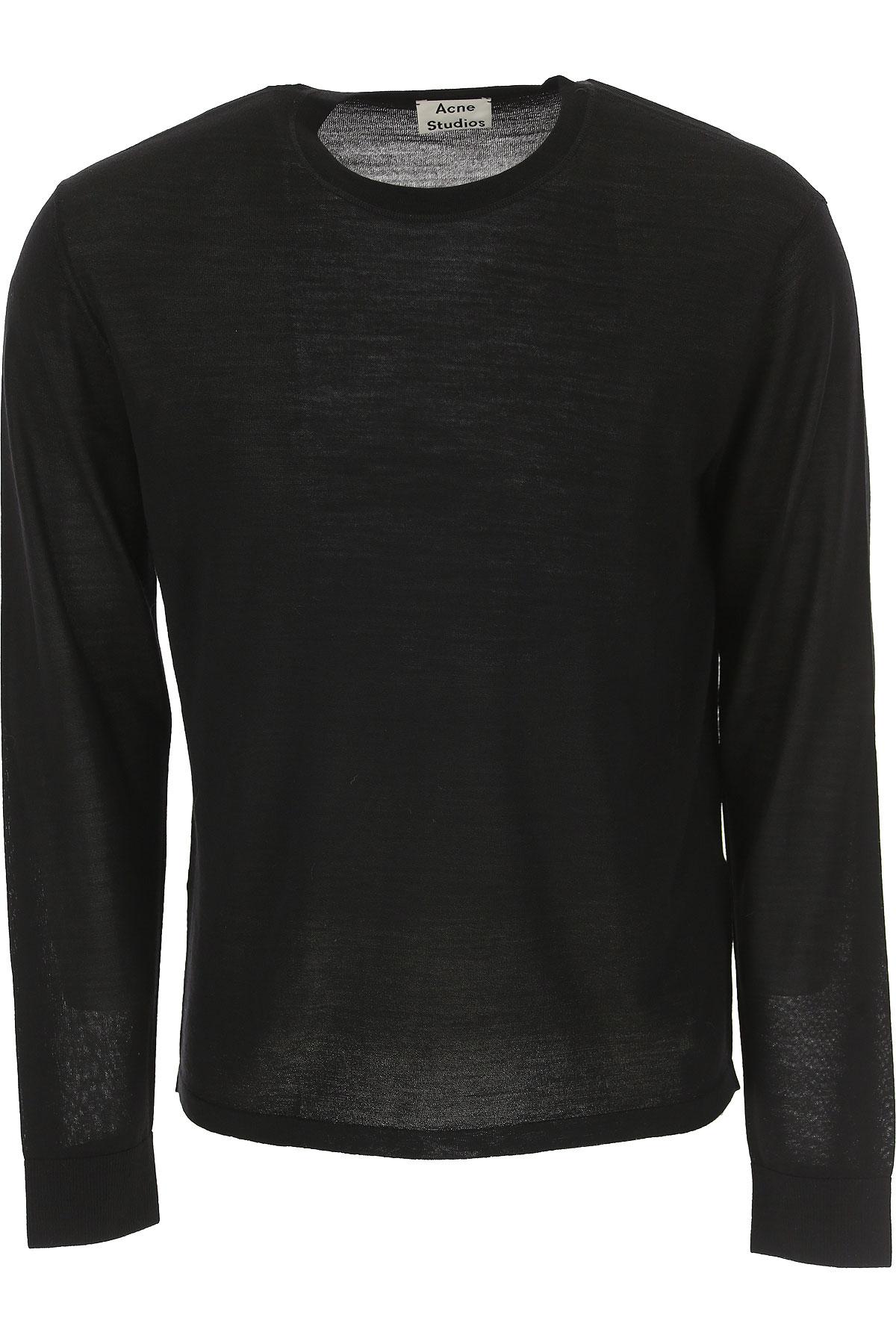Image of Acne Studios Sweater for Men Jumper, Black, Wool, 2017, L M S XL XXL