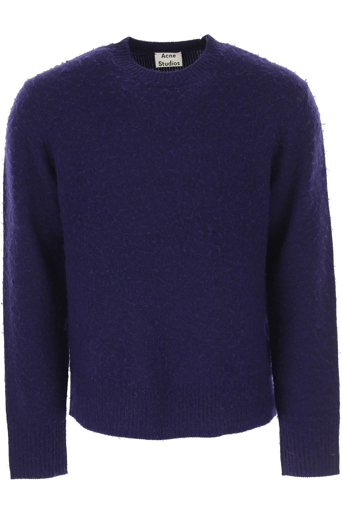 Image of Acne Studios Sweater for Men Jumper, Indigo, Wool, 2017, L M S