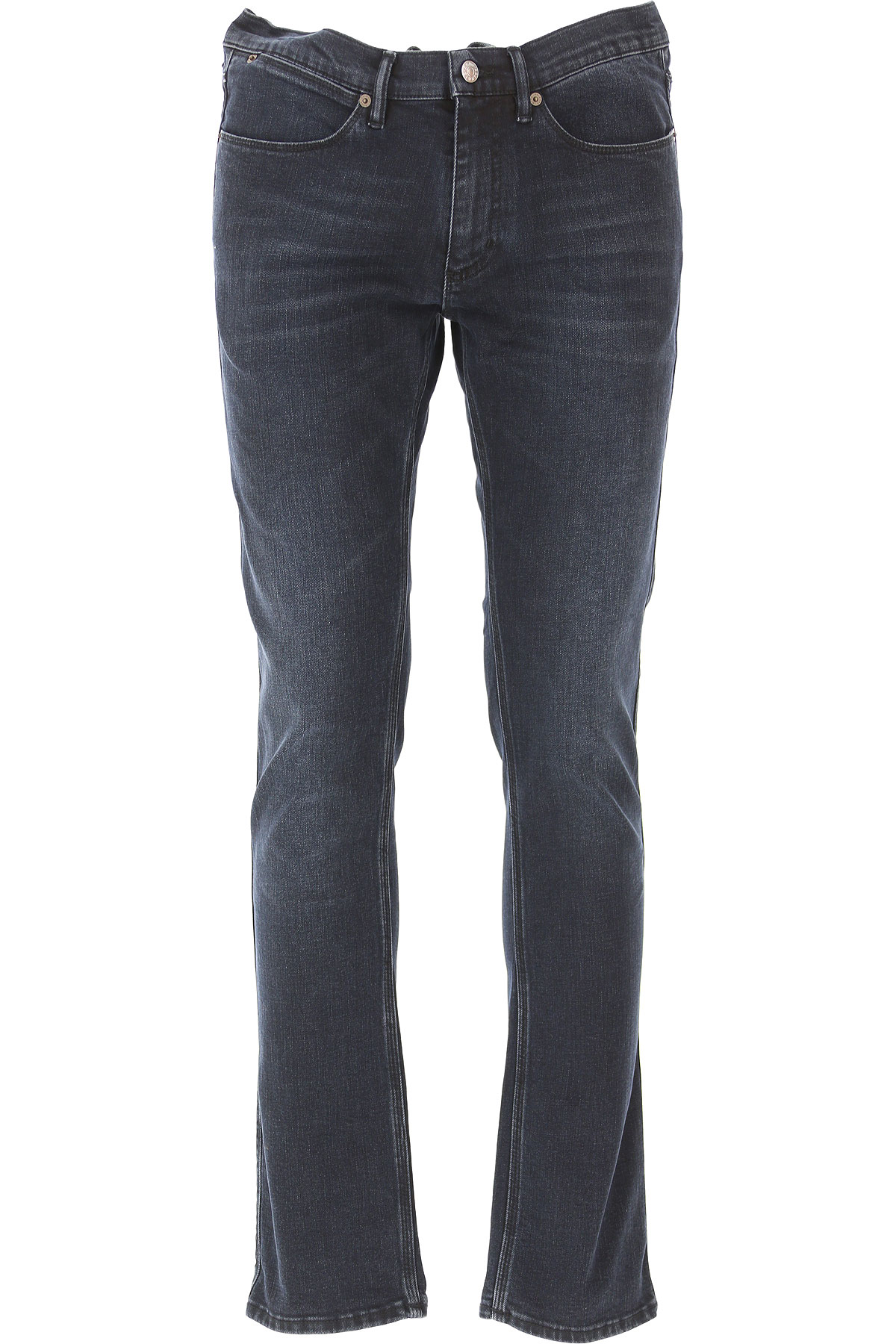 Image of Acne Studios Jeans, Blue Denim, Cotton, 2017, 29 31 33 34